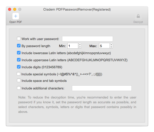 apri file pdf protetti con password sy Mac